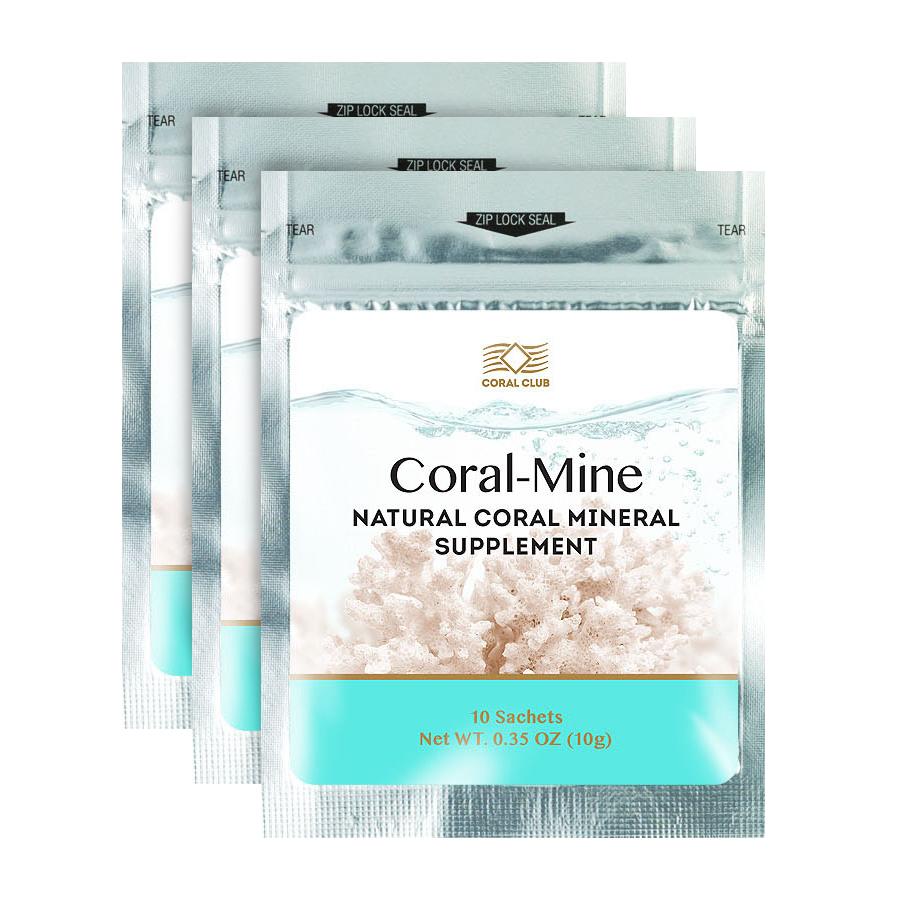 БАД Коралловая вода-  «Coral-Mine»- разжижает кровь; снижению риска заболевания сердечно-сосудистой системы