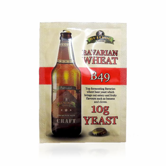Дрожжи для пшеничного пива Bulldog B49 Bavarian Wheat 10г