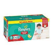 Трусики Pampers Pants Unisex 6 ( 16+ ) 88 шт!