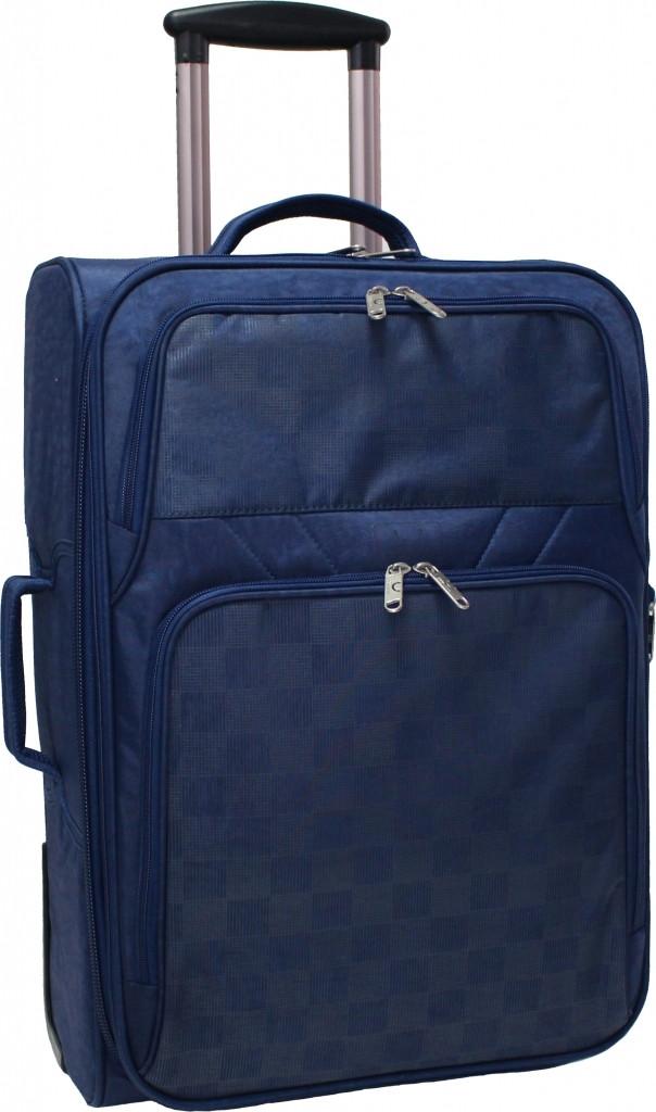 4fc5084a90e7 Дорожный чемодан на колесах Bagland Леон 51л. синий (чемоданы, чемадан