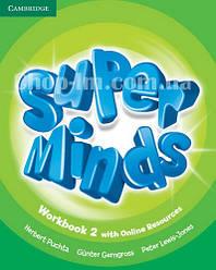 Super Minds 2 Workbook with Online Resources / Рабочая тетрадь