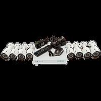 Комплект видеонаблюдения на 8 камер Green Vision GV-K-S14/08 1080P
