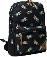 Городской рюкзак школьный Bagland mini 8л. Лис (шкільний рюкзак, мини рюкзачок, портфели, наплічник)