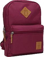 Городской рюкзак школьный Bagland mini 8л. бордовый (шкільний рюкзак, мини рюкзачок, портфели, наплічник)