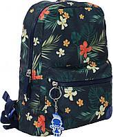 Городской рюкзак школьный Bagland mini 8л. Цветы (шкільний рюкзак, мини рюкзачок, портфели, наплічник)