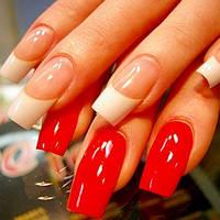Коррекция гелевых  ногтей, наращивание гелевых ногтей
