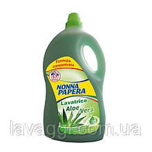 Рідкий пральний порошок Nonna Papera Lavatrice Aloe Vera 4 L