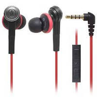 Наушники с микрофоном Audio-Technica ATH-CK400IWH Inner ear type features an Apple in-line controll