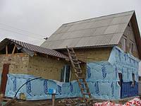 """Утепление фасадов. Эксклюзивная декорация стен. Компания """"Рембудстрой"""" - Запорожье."""