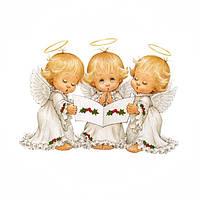 """Набор алмазной вышивки """"Три маленьких ангела"""""""