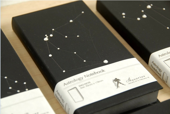 Записная книжка созвездие зодиака