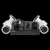 Комплект видеонаблюдения на 2 камеры Green Vision GV-IP-K-L18/02 1080P