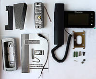 Комплект видеодомофон PoliceCam PC-446 и вызывная панель PC-201