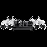 Комплект видеонаблюдения на 4 камеры Green Vision GV-IP-K-L19/04 1080P, фото 1