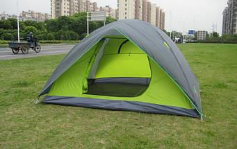 Палатка турисческие четырехместная GreenCamp 1018 , 4 - Х