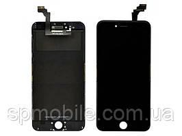 Дисплей iPhone 6 Plus, черный, с рамкой, с сенсорным экраном, Original Tian MA