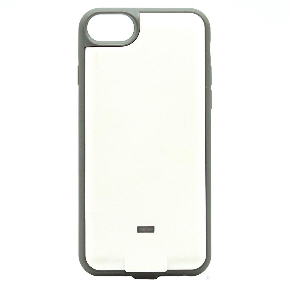 Чехол со встроенным ресивером+п.банк Iphone  Ytech YC4 + PB 6/6S/7 W белый