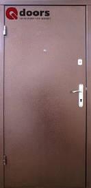 Двери Qdoors Металл/МДФ Лайт М Оптима