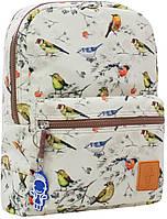 Городской рюкзак школьный Bagland mini 8л. Птица (шкільний рюкзак, мини рюкзачок, портфели, наплічник)
