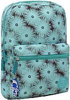 Городской рюкзак школьный Bagland mini 8л. Одуванчики (шкільний рюкзак, мини рюкзачок, портфели, наплічник)