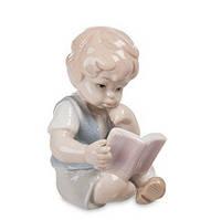 Фарфоровая фигурка Книга - лучший друг (Pavone) JP-36/19
