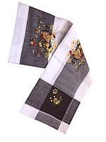 Нарядная пасхальная салфетка с вышивкой 85-85 см , фото 1