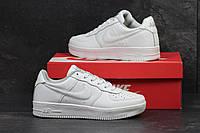 Кроссовки мужские Nike Air Force код товара SD-4709. Белые