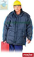 Куртка зимняя рабочая Reis Польша (спецодежда утепленная флисом) COALA GN