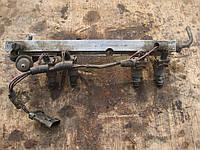 Рамка рампа топливная + форсунки Таврия Славута ЗАЗ 1102 1103 1105 Део Деу Сенс Daewoo Sens