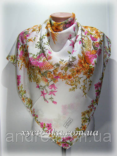 Натуральный платок Сюзанна, молочный