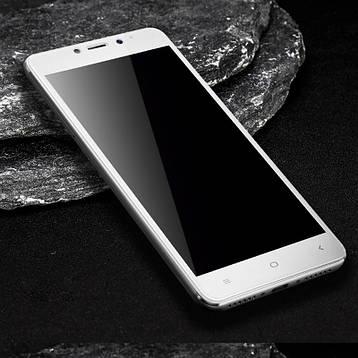 Защитное стекло AVG для Xiaomi Redmi Note 4 / Note 4 Pro полноэкранное белое, фото 2