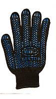 Перчатка с ПВХ покрытием  арт. 622 (черн.) (10\200 шт)