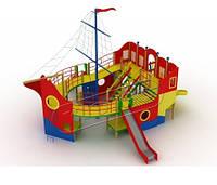 Площадка в виде корабля Детский комплекс Пираты для улицы, фото 1