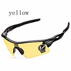 Очки спортивные Robesbon желтые тактические антифары велосипедные  спортивные велоочки MD 89f5af48f61f3