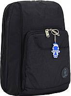 Школьный рюкзак портфель Bagland 16л. Стингер черный (шкільний рюкзак, школьные рюкзаки, портфели, наплічник)