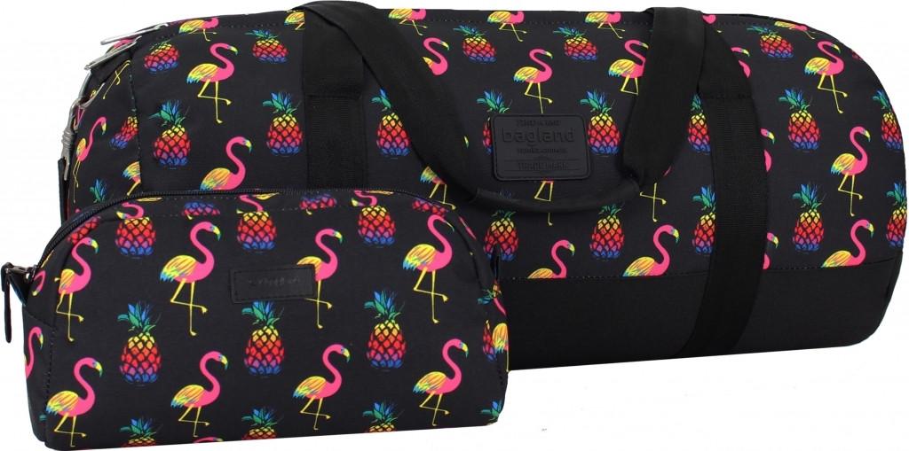 Спортивная сумка дорожная Bagland Staff 30л. Фламинго (спортивная сумк