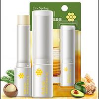 Гигиеническая помада-бальзам One Spring с медовым экстрактом. 3 г