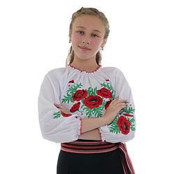 """Вышиванка для девочек """"Соломия"""" с красивой вышвкой"""