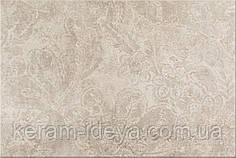 Плитка для стены Cersanit Bino 30x45 большие цветы крем