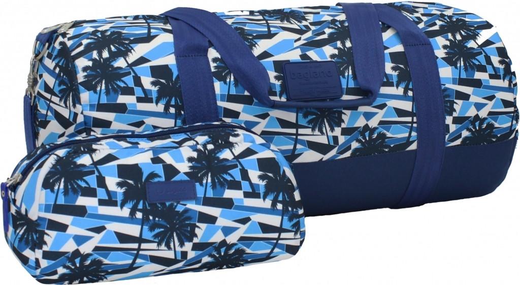 Спортивная сумка дорожная Bagland Staff 30л. Пальмы (спортивная сумка,