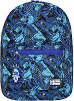 Городской рюкзак трансформер Bagland 16л. Геометрия (рюкзак женский, мужской рюкзак, наплічник, рюкзачок)