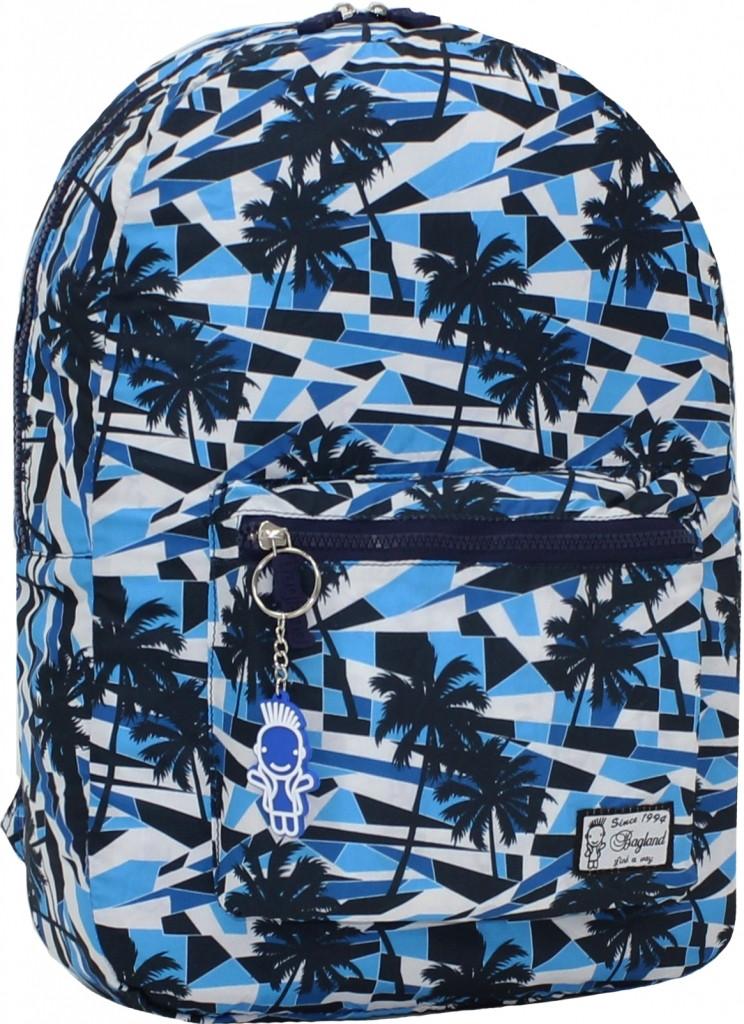 Городской рюкзак трансформер Bagland 16л. Пальмы (рюкзак женский, мужс