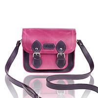 Сумка сэтчел фиолетово-розовая, фото 1