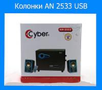 Колонки для компьютера AN 2533 USB