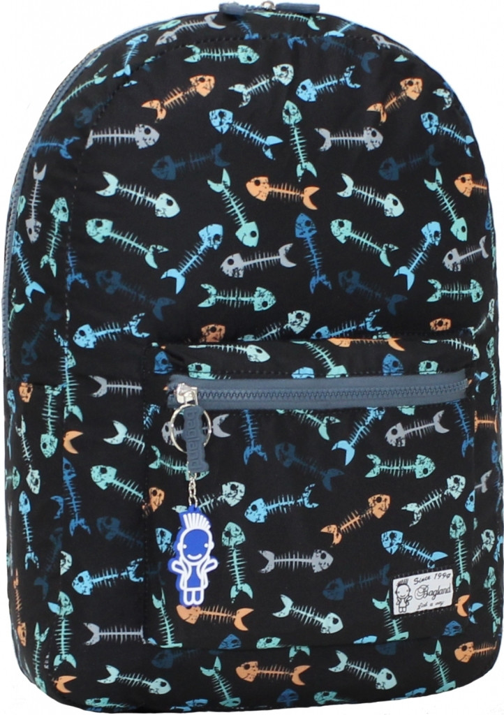 Городской рюкзак трансформер Bagland 16л. Рыбка (рюкзак женский, мужск