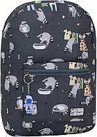 Городской рюкзак трансформер Bagland 16л. Еноты (рюкзак женский, мужской рюкзак, наплічник, рюкзачок)