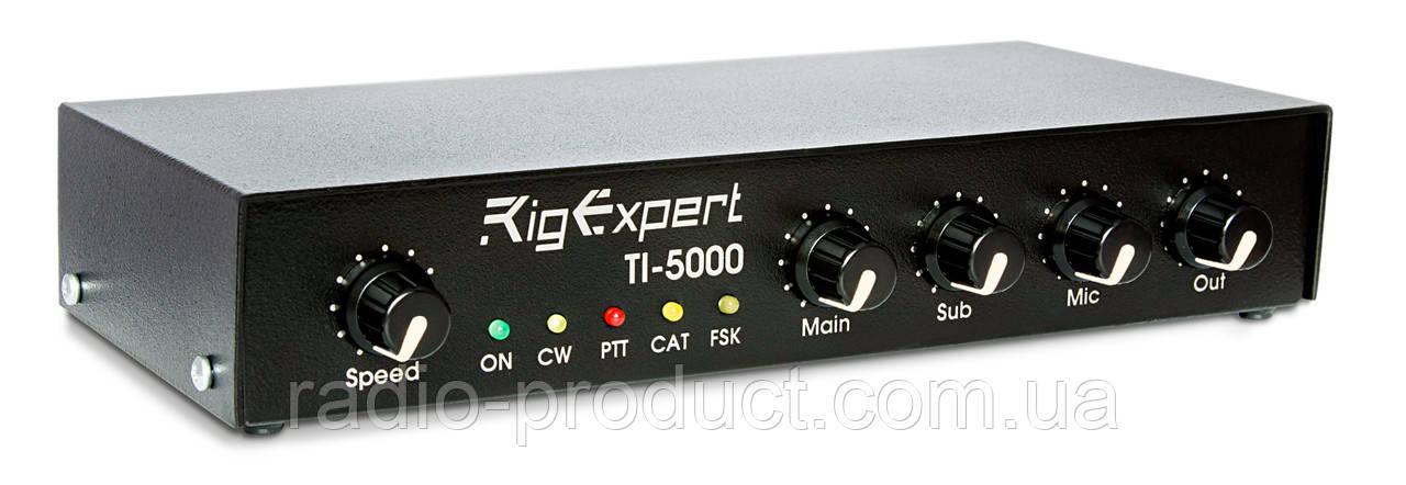 RigExpert TI-5000 интерфейс