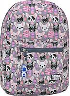Городской рюкзак трансформер Bagland 16л. Собачка (рюкзак женский, мужской рюкзак, наплічник, рюкзачок)