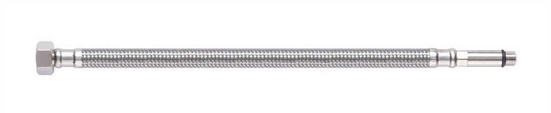 Шланг для воды (смесители) Tucai H1/2-M10-L37 0.8м нерж. , фото 2