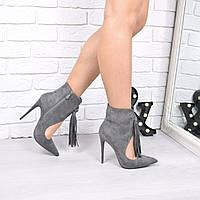 Ботильоны женские Vices Grey  , женская обувь